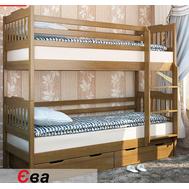 """Ліжко дитяче двоярусне """"Єва"""" 80*190  TIN_124  (з шухлядами)"""