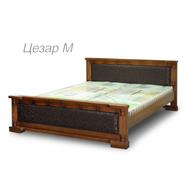 Ліжко  Цезар М  160*200  дуб_горіх
