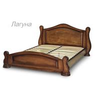 Ліжко  Лагуна  160*200  дуб_горіх світлий