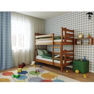 Дитяче ліжко_трансформер  Санта  90 х 200  бук масив_120, крок 5.5