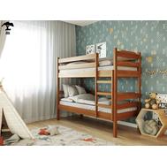 Дитяче ліжко_трансформер  Мілена_2  90 х 200  бук масив_101, крок 5.5 + драбина зліва