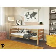 Дитяче ліжко  Мілена  090 х 200  бук масив_Лак, крок 5.5