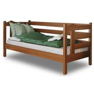 Дитяче ліжко  Санта_1  090 х 200  бук масив_101, крок 5.5