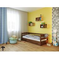 Дитяче ліжко  Мілена  090 х 200  бук щит_108, крок 5.5 +ПМ + L_800мм
