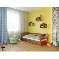 Дитяче ліжко  Мілена  080 х 190  бук щит_104, крок 5.5 + ПМ