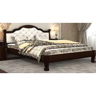 "Ліжко ""Тетяна_елегант"" Люкс 140*200  венге_angel crem (мягка спинка +250 грн)"