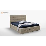 М'яке ліжко  1,8х2,0  Підйомне з каркасом  Брістоль  (0097 К1)  SF-49-BR