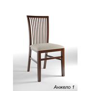 Стілець  Анджело 1  бук_білий , тканина: Etna 90